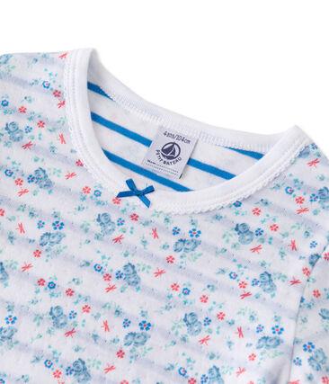 Wendbarer Mädchen-Schlafanzug aus gedoppeltem Jersey