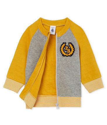 Baby-Cardigan aus Doppeljersey mit Reißverschluss für Jungen