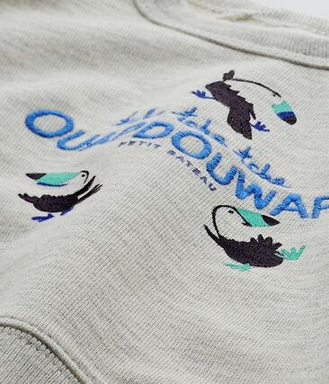 Baby-Jungen-Sweatshirt aus Molton