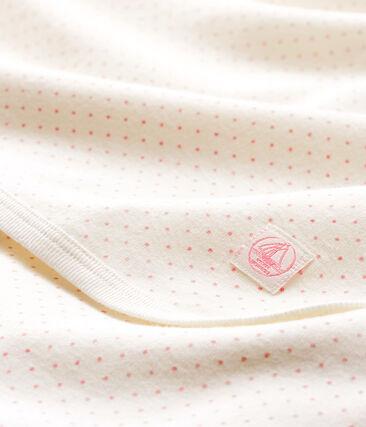 Decke für Neugeborene aus Rippstrick