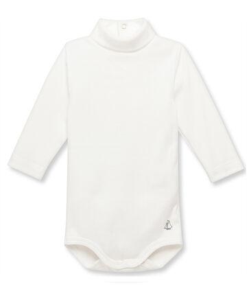 Baby-Body mit Rollkragen beige Coquille