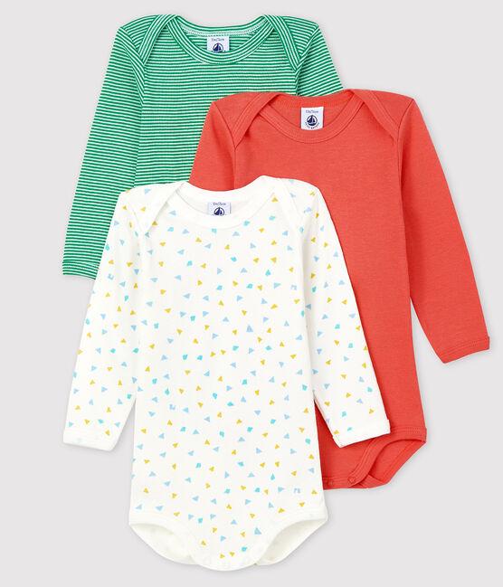 3er-Set langärmlige Baby-Bodys für Jungen lot .