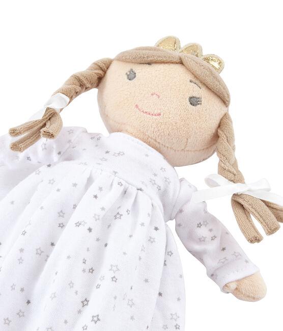 Puppe für Mädchen weiss Marshmallow / weiss Multico