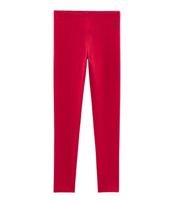 Kinder-Legging Mädchen rot Terkuit