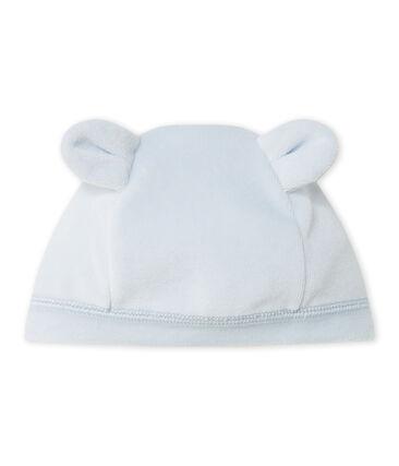 Unisex-Mütze aus Nicki für Neugeborene blau Fraicheur