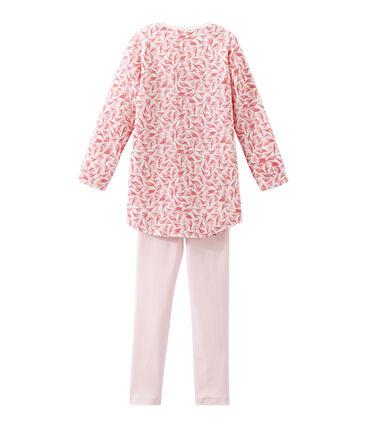 Mädchen Nachthemd mit Leggings
