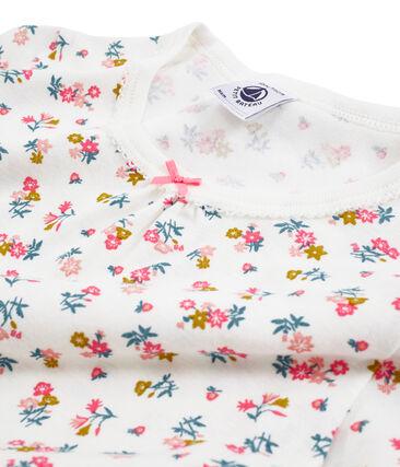 Rippstrick-Nachthemd für kleine Mädchen