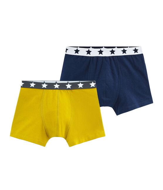 Duo Boxershorts aus Stretch-Baumwolle für Jungen lot .