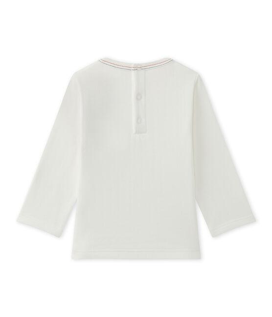 Baby-Jungen-T-Shirt in Uni weiss Marshmallow