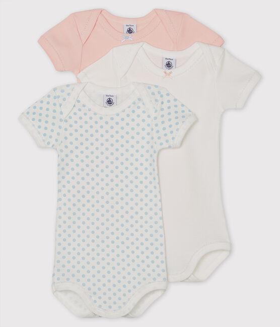 3er-Set kurzärmelige Baby-Bodys für Mädchen lot .