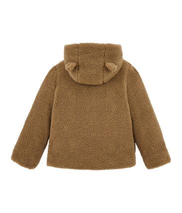 Mädchen Mantel aus Lammfellimitat