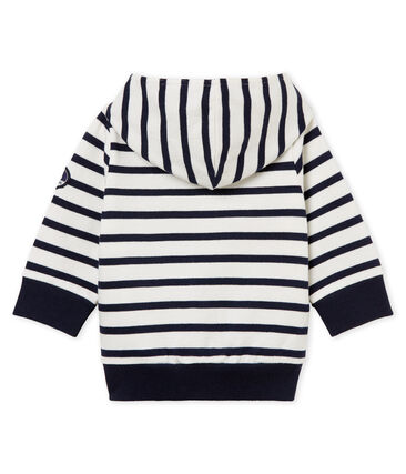 Baby-kapuzenSweatshirt mit seemannsstreifen jungen