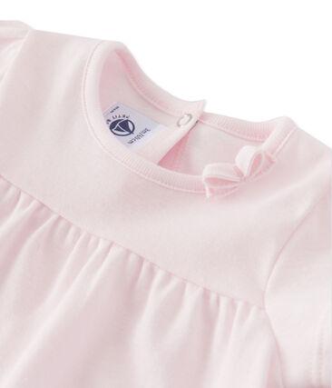Baby-Mädchen-T-Shirt rosa Vienne