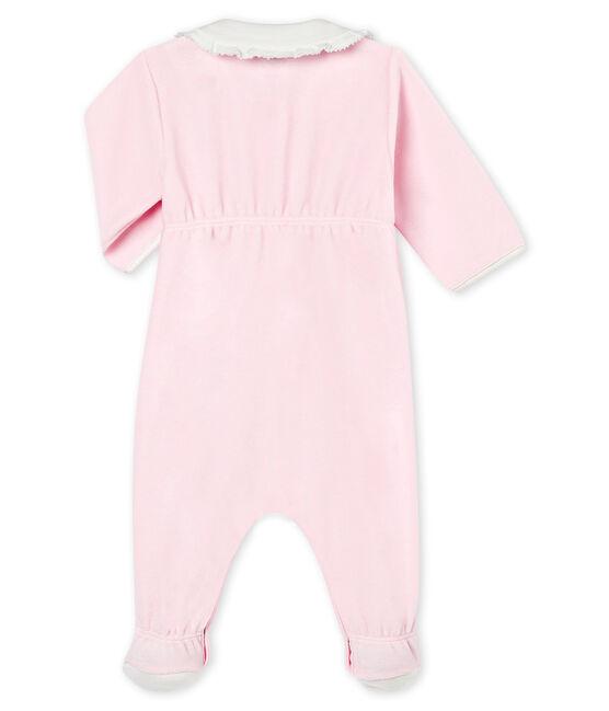 Baby MädchenStrampler aus Baumwoll Nicki in Uni rosa Vienne