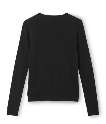 Emblematischer Cardigan für Damen schwarz Noir