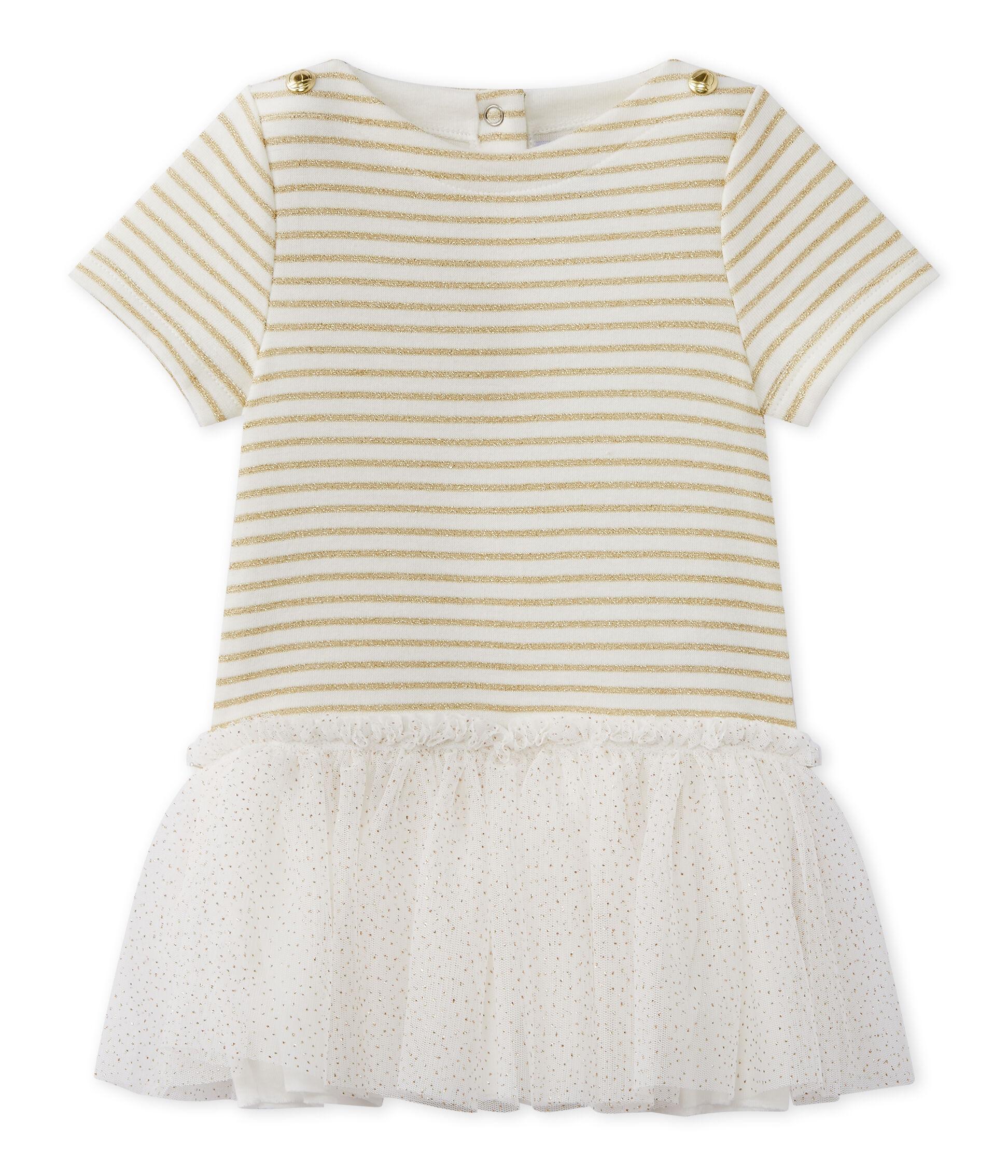 Petit Bateau Baby-M/ädchen Kleid