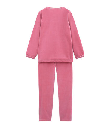 Mädchen Schlafanzug rosa Cheek