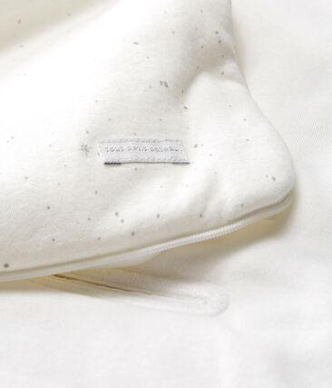 Babynest aus Doppeljersey weiss Marshmallow / weiss Multico