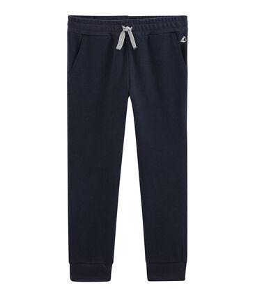 Kinder-Hose für Jungen blau Smoking