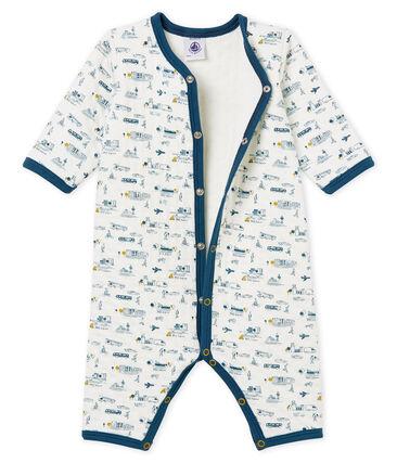Baby-Strampler ohne Füße aus gedoppeltem Jersey für Jungen