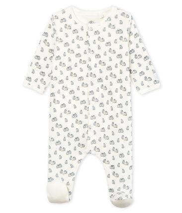 Baby-Bodyjama aus Samt für Jungen