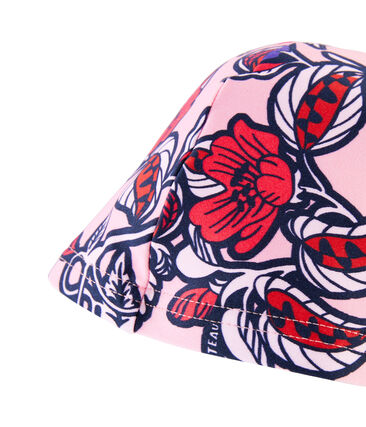 Bademütze mit UV-Schutz und LSF 50+ für kleine Mädchen lot .
