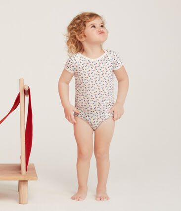 5er-Set kurzärmelige Baby-Bodys für Mädchen