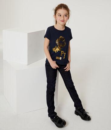 Kurzärmliges T-Shirt für Mädchen