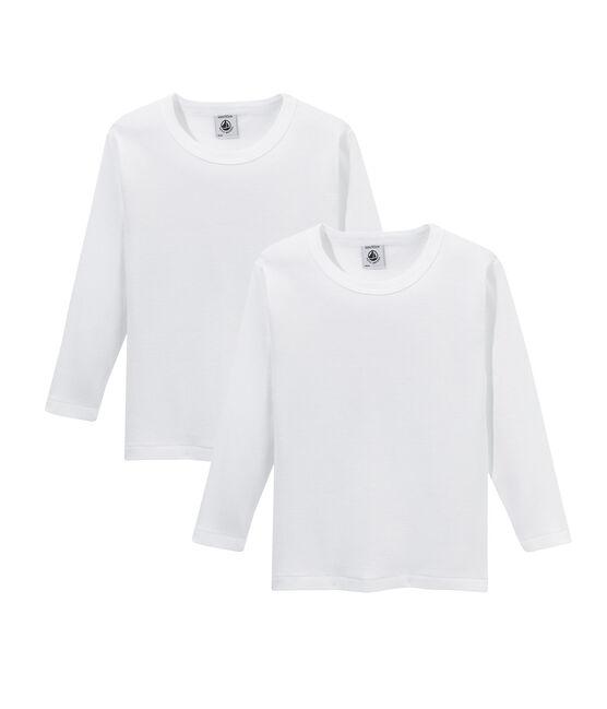 2er-Set langärmlige T-Shirts für Jungen lot .