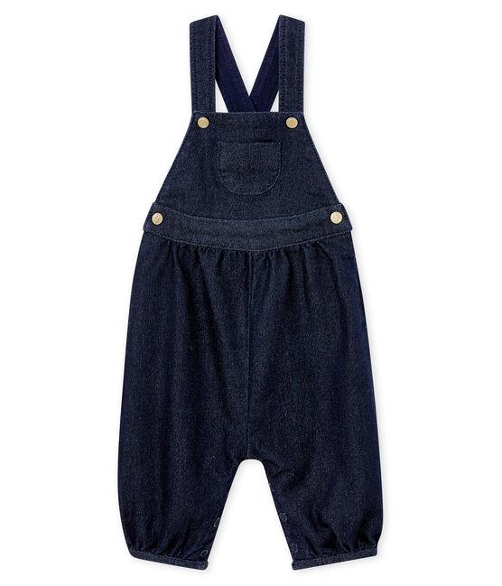 Baby MädchenJeanslatzhose blau Denim Bleu Fonce