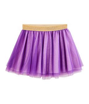 Kinder-Rock für Mädchen violett Real