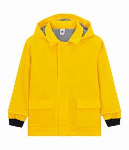 Kinder-Regenjacke für Mädchen und Jungen gelb Jaune