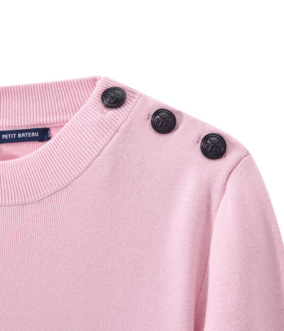 Marinepullover für Damen rosa Babylone