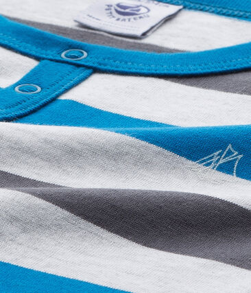 Gestreifter Jungen-Schlafanzug aus Jersey
