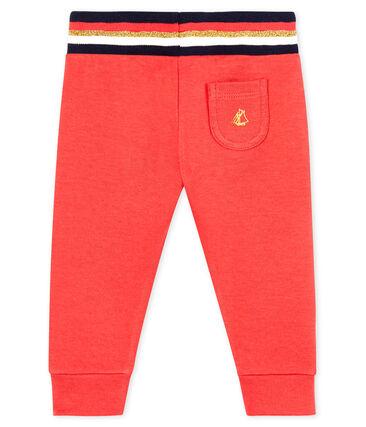 Baby-Hose aus Doppeljersey für Mädchen