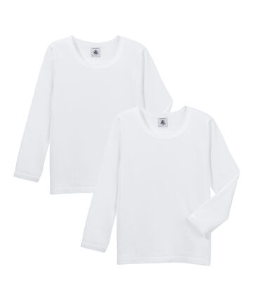 Duo T-Shirts für kleine Mädchen lot .