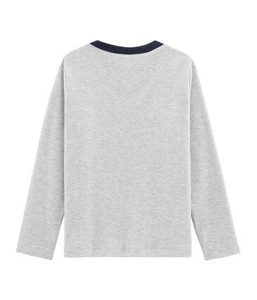 Langärmliges T-Shirt mit Siebdruck für Jungen
