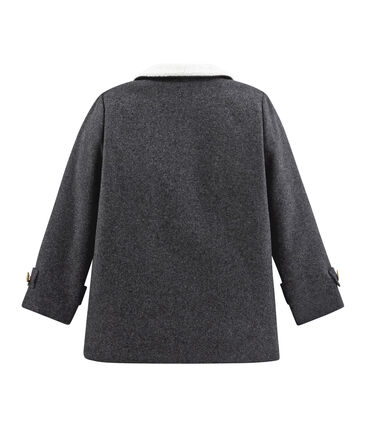 Mantel für Jungen grau Subway