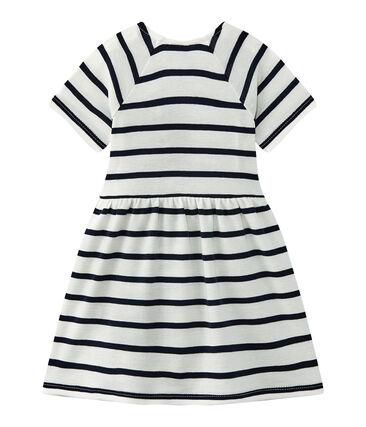 Gestreiftes Baby-Mädchen-Kleid