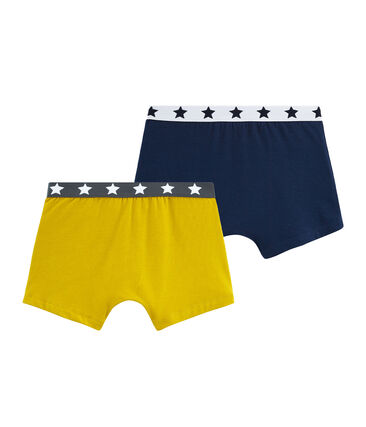 Duo Boxershorts aus Stretch-Baumwolle für Jungen