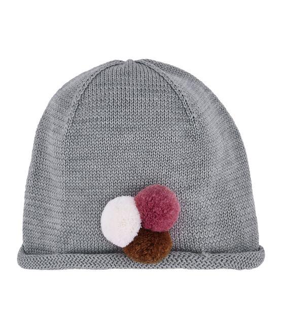 Mädchen-Mütze grau Subway