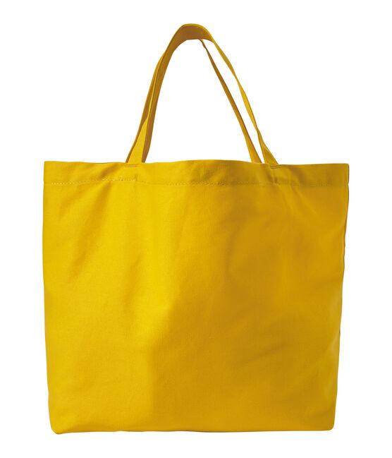 Mädchen-Shopper aus Canvas orange Fusion