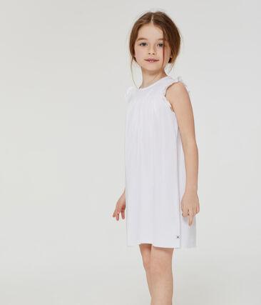 Nachthemd aus dünner Baumwolle für kleine Mädchen