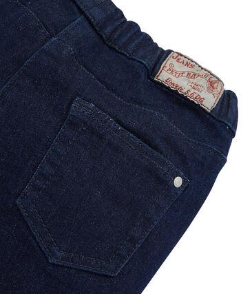 Slim Fit Stretch-Jeans für Mädchen blau Denim Bleu Fonce