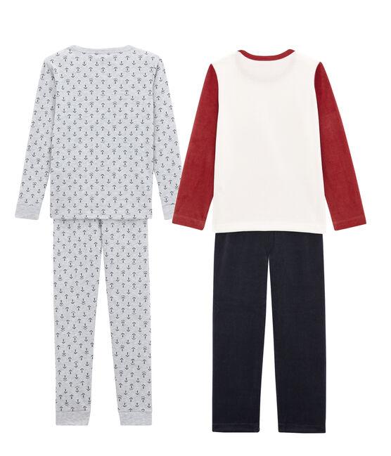 Set aus 2 warmen Pyjamas für kleine Jungen lot .