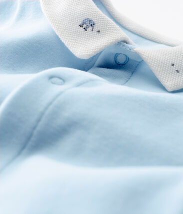 Baby-strampler jungen aus baumwoll-samt