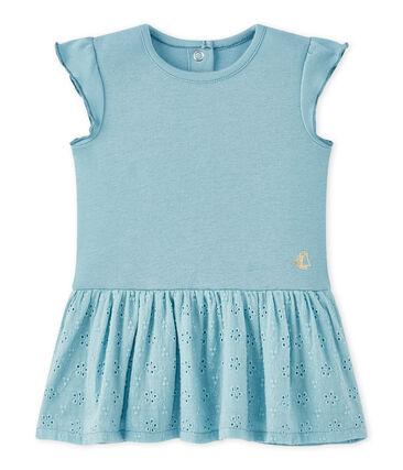 Baby-Mädchen-Kleid mit Schmetterlingsärmeln