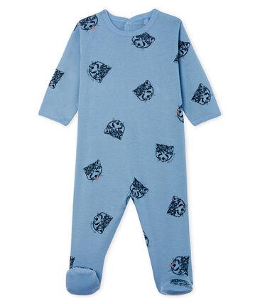 Baby-Strampler aus Rippstrick für Jungen