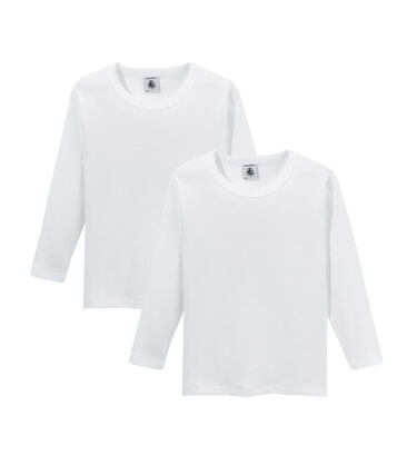 2er-Set langärmlige T-Shirts für Jungen