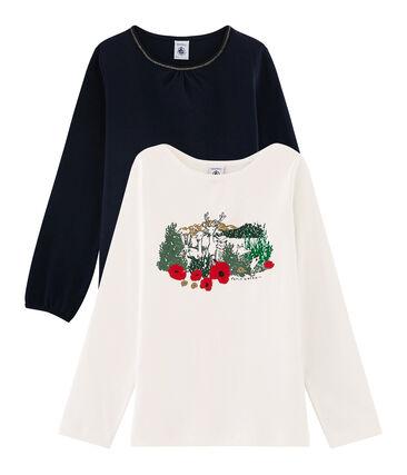 Set mit zwei T-Shirts für Mädchen